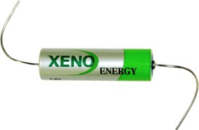 XenoEnergy XL-060FAX AA 3.6 Volt 2.4Ah Lithium with axial leads