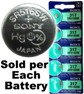 Sony Batteries SR516SW - 317 Silver Oxide Watch Battery - On Tear Strip, Exp. 10-2020