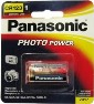 Panasonic CR123A Lithium 3 Volt Photo Power Battery Carded, Dated 12, 2027