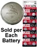 GI Alkaline LR44 Watch Battery