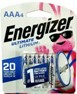 Energizer L92 AAA Lithium 4 Card<
