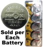 Maxell Hologram SR516SW (317) Silver Oxide Watch Battery On Hologram Tear Card, Exp. 2-2020