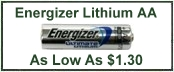 Energizer L91 AA Lithium Battery