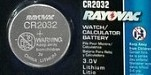 Rayovac Coin Batteries